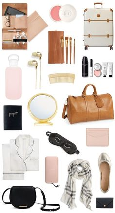Holiday Gift Guide: For the Traveler — bright and beautiful Travel Bag Essentials, Road Trip Essentials, Packing Tips For Travel, Airplane Essentials, Travel Packing Outfits, Suitcase Packing, Packing Ideas, Packing Lists, Travel Hacks