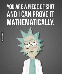 Quote from Rick and Morty
