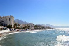 Playa de Torrecilla is one of Nerja's most popular beaches. Lets take a look.