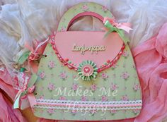 Mothers Day Crafts, Make Me Happy, How To Make, Ideas, Purses, Thoughts