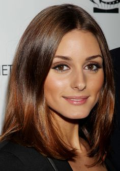 Straight Hair Styles: Looks From The Runway, Red Carpet and Salon - The Stylist Hair 100 - Stylist Magazine Ombre Hair, Balayage Hair, Winter Hairstyles, Cool Hairstyles, Olivia Palermo Hair, Hair Color And Cut, Hair Colour, Mid Length Hair, Shiny Hair