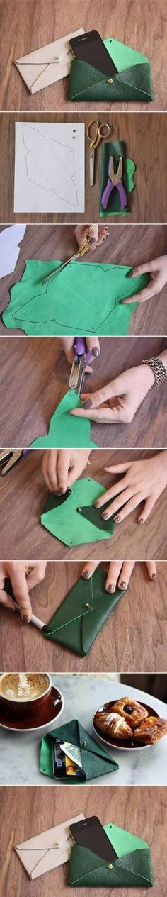 Perfect for a pencil pouch!!  #diy