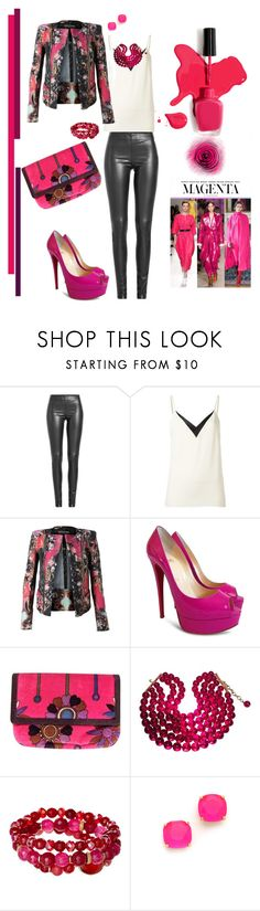 """""""Allegra"""" by scope-stilettos ❤ liked on Polyvore featuring Joseph, Lanvin, Balmain, Christian Louboutin, Emilio Pucci, Chanel, Oori Trading and Kate Spade"""