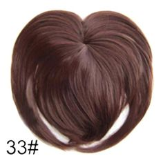 Silky Clip-On Hair Topper Wig Heat Resistant Fiber Extension - Daily False Hair. 1 x Silky Clip-On Hair Topper. It is ahairpiece, not a full wig, anyone won't know you are wearing anything.Perfect solution to conceal thin hair, gray hair, hair loss. Synthetic Hair Extensions, Clip In Hair Extensions, Fake Fringe, Dookie Braids, Hairpieces For Women, Hair Toppers, Magic Hair, Natural Hair Styles, Long Hair Styles