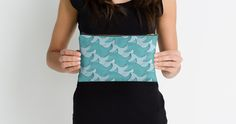 California Surf Wave Pattern Illustration by Gordon White   California Surf Small Studio Pouch Held Available @redbubble --------------------------- #redbubble #stickers #california #losangeles #la #surf #wave #cute #adorable #pattern #studiopouch #pouch #bag