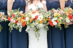 A Fall Booking House Wedding | Brittney Kreider Photography