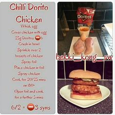 thought I'd just pop on to post these for you all 😚 share the love and tag your friends 😉 Slimming World Syn Values, Slimming World Treats, Slimming World Dinners, Slimming World Syns, Slimming World Recipes, Chicken In Foil, Doritos Chicken, Sliming World, Snack Recipes