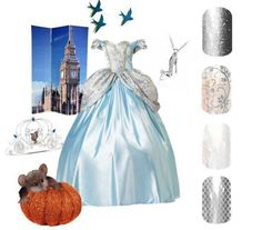 Disney Spring Summer 2015 Jamberry Nails Games Cinderella