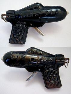 Vintage Japanese Toy Ray Guns