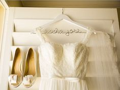 Personalized Bridal Hanger Personalized by HandcraftedAffairs