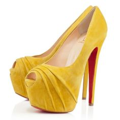 e9fc4d3f78c0 Christian Louboutin Drapesse Peep Toe Pumps Show Your Beauty
