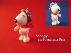 Snoopy en Porcelana Fria - YouTube