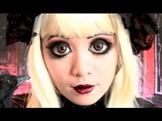 Great tutorial if you want massive looking anime eyes. Colors can be toned down for a less dark looking cosplay