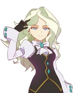 Diana Cavendish - Little Witch Academia - Image - Zerochan Anime Image Board Manga Girl, Manga Anime, Anime Art, Little Witch Academia Diana, Little Wich Academia, Poses Anime, Character Art, Character Design, Anime Poses Reference