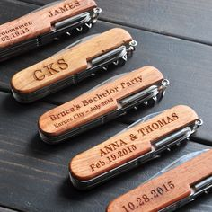 Personalized Pocket Knife, Custom Multi-tool Knives, Engraved Pocket Knife, Father's Day, Customized Groomsmen gifts for men