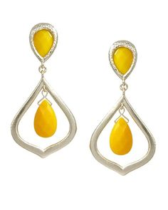 Ryanne Earrings in Yellow