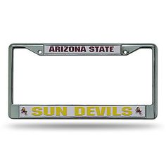 Official NCAA Arizona State Sun Devils License Plate Frame 267759