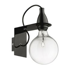 applique murale en m tal color ampoule minimal decoclico lamp pinterest metals euro