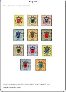 Selos de Angola e Congo (1870/1974) Concepção e texto de Carlos Kullberg Angola - O Selo de Correio Terá sido em Maio de 1840 que o inglês Sir Rowland Hill inventou o selo de correio. Em Portugal, a reforma postal deu-se em 1852, o uso dos selos postais adesivos, vieram a ser emitidos em 1853 com a efígie de D. Maria II. Os correios eram de início uma instituição ao serviço exclusivo do soberano