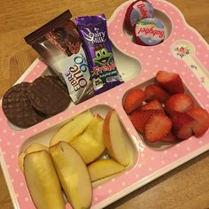 "169 Likes, 15 Comments - Emma 💜🐧🐉 (@emmab.sw) on Instagram: ""#snacktray apple, strawberries, babybel that was my #hea but I only ate 1 as they are rank 😷…"""