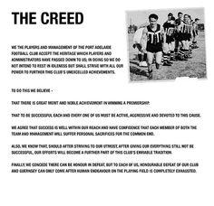 The Creed - PORTADELAIDEFC.com.au