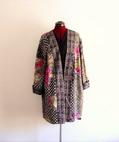 Boho printed Duster Black Friday Sale 30% off by KheGreen on Etsy