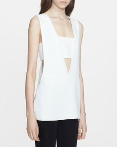 Love the simplicity and design of this Alexander Wang tank.
