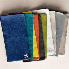 Cross Dye Basic Napkin Set | west elm