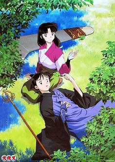 Sango Miroku Inuyasha Love Kagome Higurashi Miroku Anime Rules Anime Shows