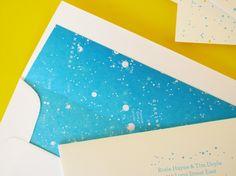 Rosie + Tim's Constellation Engagement Party Invitations