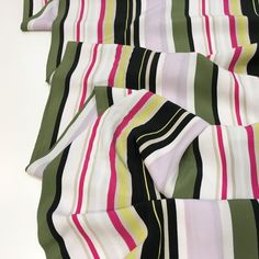 Sew Over It, Crepe Fabric, Viscose Fabric, Yellow Stripes, Hot Days, Bloomsbury, Keep Your Cool, Karen Millen, Dressmaking