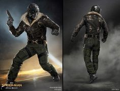 Spider-Man: Homecoming concept art showcases The Vulture Marvel Dc Movies, Marvel Villains, Marvel Vs, Marvel Heroes, Marvel Characters, Marvel Comics, Spiderman Homecoming Vulture, Spider Man Homecoming 2017, Marvel Concept Art