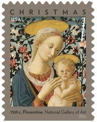 Christmas 2016 stamps – USA