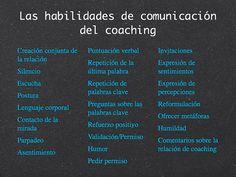 Habilidades de comunicación del coaching. Extraído de CAJA DE HERRAMIENTAS I : HABILIDADES DE RELACIÓN EN EL COACHING ALAIN CARDON  EL ARTE DE CREAR UN ENTORNO DE COACHING FAVORABLE (http://www.anse.fr/espanol/caja-de-herramientas-i-habilidades-de-relacion-en-el-coaching-alain-cardon/)