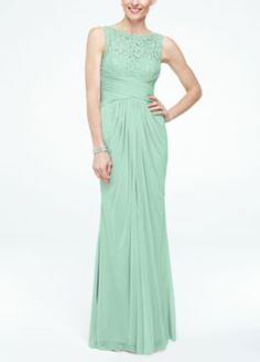 Long Strapless Lace Dress with Sweetheart Neckline Style W10329 ...
