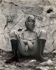 "Photo ""Charis, Lake Ediza"" by Edward Weston, [Charis] Wilson was an intellectually inclined, brazenly adventurous young woman of Edward Weston, Vintage Photography, Creative Photography, Urban Photography, Color Photography, Portrait Photography, Classic Photography, Henry Westons, Matt Hardy"