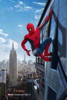 Spider-Man: Homecoming muestra algunos nuevos carteles