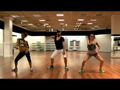 Sensazao Crew - Sensazao Dance Fitness. Drop It Low (Kat De Luna). I think Sensazao videos may be my  absolute favorites for far - it's like a dance PAAH-TAAY!!