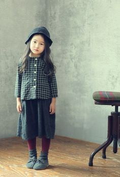 JK Kids Emma Gingham Blouse (2C)