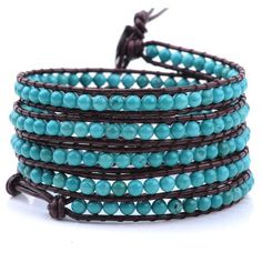 Turquoise Wrap Bracelet from Victoria Emerson | $27