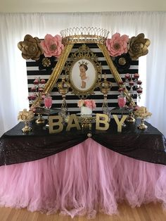 Paris baby shower by Fabulous Creations
