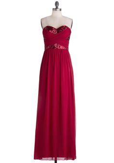 Receiving Line Dress in Red   Mod Retro Vintage Dresses   ModCloth.com