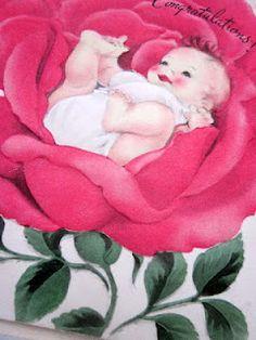 Pomme de Jour - Vintage Greeting Cards