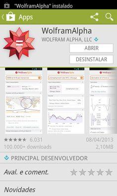 Comprar o aplicativo Wolfram Alpha para smartphone vale cada centavo