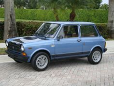 1979 Autobianchi Abarth Maintenance of old vehicles: the material for new cogs/casters/gears/pads could be cast polyamide which I (Cast polyamide) can produce Alfa Romeo Junior, Italian Side, Golf 4, Fiat Abarth, Steyr, Small Cars, Old Cars, Automobile, Bike