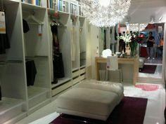 Ikea Furniture Walk in Closet Ideas
