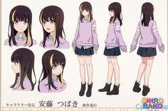 New Members Character Model Sheet, Character Poses, Character Modeling, Character Design References, Character Concept, Character Art, Character Reference Sheet, Kawaii Anime Girl, Anime Art Girl