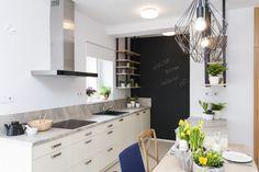 Svetlá kuchyňa Double Vanity, Table, Furniture, Design, Home Decor, Decoration Home, Room Decor, Tables
