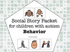 Visual Social Story Packet for Children with Autism: Behavior Set { 6 social stories about common behavior problems. The stories included are:  - Personal Space  - Keeping Your Hands to Yourself  - What to do When You're Frustrated  - Time Out  - Changes are Okay  - Loud Noises}