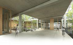 Centre de recerca de l'ICTA i ICP a UAB  2011. 1er Premi  Cerdanyola del Vallès. Barcelona Equip dataAE • H arquitectes